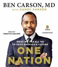 One Nation : What We Can All Do to Save America's Future by Candy Carson and