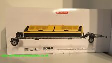 WIKING 1/32 SCALE ZURN PROFICUT 700 DIRECT CUT HEADER WITH TRAILER (MIB)