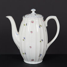 "BEAUTIFUL 8"" TALL WURTTEMBERG GERMAN PORCELAIN ""PATTERN #3637"" COFFEE POT"