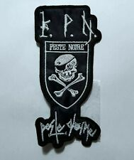 PESTE NOIRE SHAPED EMBROIDERED  PATCH