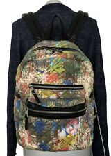 ASH 'DANICA' GRAFFITI QUILTED CANVAS BACKPACK, $495