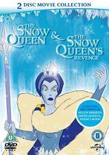 Snow Queen / Snow Queen's Revenge (DVD, 2013, 2-Disc Set, Box Set)  New & Sealed
