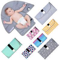 AU_ KE_ Waterproof Baby Diaper Changing Mat Travel Home Change Pad Portable Napp