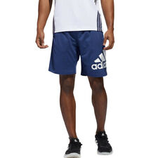 adidas Mens 4KRFT Sport Badge Shorts Pants Trousers Bottoms - Blue Sports