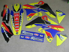 FLU DESIGNS  PTS2  TEAM GRAPHICS  SUZUKI  RMZ250 2007  2008   2009