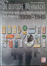 Dienstgrade und Waffenfarben des Heeres 1939 -1945 - Deutsche Wehrmacht