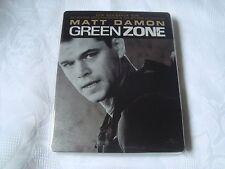 GREEN ZONE Blu-Ray SteelBook DEBOSSED Matt Damon Paul Greengrass LIMITED EDITION