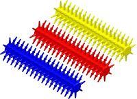 Sensory Stixx Hand Fidget Tactile Sensory Brush Autism ADHD SEN Biting Chew Aid