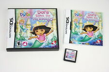 Dora Saves the Mermaids - Nintendo DS - comes with manual and case