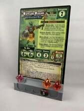Shadows of Brimstone - Enemy Card Holder - Silver or Black (Custom 3D printed)