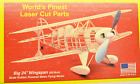 """PITTS SPECIAL, Laser Cut, Free Flight Kit, W/S 24"""" Rubber Power, Untouched"""