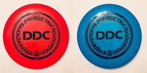 Wham-o IFA Double Disc Court (DDC) Frisbee - Orange & Blue Pair
