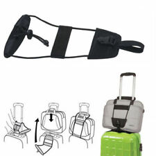 d1cea903d Black Add A Bag Strap Luggage Suitcase Adjustable Belt Carry On Bungee  Travel ST