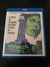Tower Of Evil Blu-ray Scorpion Proto-Slasher OOP official US Release Sexy Horror