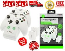 Venom -Xbox One S Twin Docking Station with 2x Rechargeable Battery Packs Unique