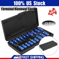 19Pcs Car Terminal Tool Kit Electrical Connector Release Removal Tool Universal
