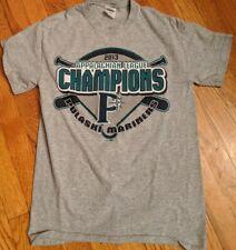 Pulaski Mariners 2013 Appalachian League Champion Shirt Adult Small