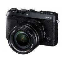 Fujifilm X-E3 Fuji XE3 Digital Camera + XF 18-55mm Lens in Black BNIB UK Stock