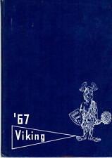 Hefner Junior High School Oklahoma City 1967 Viking Yearbook Annual