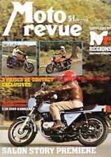 MOTO REVUE 2335 KAWASAKI Z 1000 Z1 YAMAHA XS 1100 SUZUKI GS Salon 1977