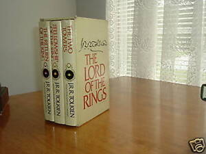 THE LORD OF THE RINGS 3 VOLS 1978 HOUGHTON second edition (assumed)