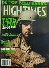 High Times April 2017 Vets & Pot Healing Our Heroes Seed Banks FREE SHIPPING sb