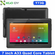 "7"" inch Android 4.4 Quad Core Tablet PC 8GB Camera WIFI Bluetooth With Keyboard"