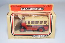 ! LLEDO DAYS GONE POTTERIES BUS LONGTON SINGLE DECK COACH MINT BOXED