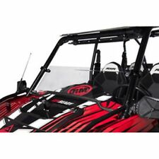 "Polaris RZR 900 1000 4 S S4 XP XP 4 Turbo Tusk +2"" Hard Coated Hinged Windshield"