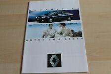 139332) Renault R 19 16V Phase II - Espace J63 Prospekt 04/1994