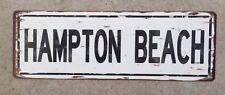 Joppa Flats Newburyport Cape Ann Bass Fishing Clam Vintage Metal Sign Home Decor