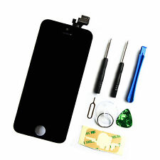 iPhone 5 Display Reparaturset Ersatz LCD Display Touchscreen Bildschirm Schwarz