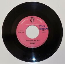 GENE BUA Once Upon a Time/Unchained Melody 1959 Warner Bros 5037 teen rock 45 vg