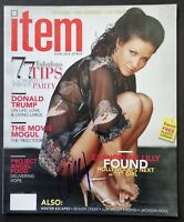 Evangeline Lilly Signed 2004 Item Magazine - COA Signatures.com