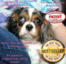 10 Canine Ovulation Fertility 🐾Testing Pads – Laboratory Grade test @ Home~🌺