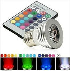 LED Light Magic Lighting  Bulb And Remote With 16 Different Multi-color & 5 Mode