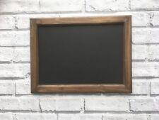 Handmade Wooden Blackboard, Message board, Chalk board Wall Mounted 40 x 30cm