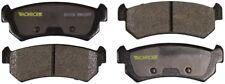 Disc Brake Pad Set-Total Solution Semi-Metallic Brake Pads Rear Monroe DX1036