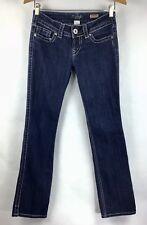 Silver Jeans Size W28/L32 28 Women's McKenzie Slim Bootcut Thick Stitch A9-16