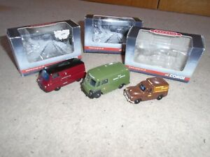 Collection of Trackside Corgi Diecast Vehicles for Hornby OO Gauge Train Sets