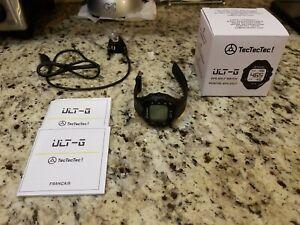 TecTecTec ULT-G Golf GPS Watch Preloaded Worldwide Courses Lightweight English