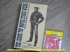 "TOYS McCOY Japan Steve McQueen Lee Legend Collection 1/6 12""figure +Bonus Scarf"