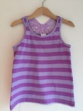 Palomino 6 years Girls Purple Lilac Vest, Butterfly, striped,