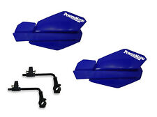 Powermadd Trail Star Handguards Guards Tri Mount Kit Blue Utility ATV Polaris