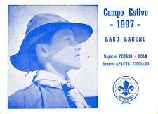 4750) SCOUTISMO AGESCI, CAMPO ESTIVO 1997 LAGO LACENO REPARTI DI NOLA E CICCIANO