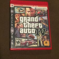 Sony PlayStation PS3 Video Game Grand Theft Auto IV Rated M