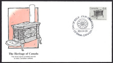 Canada  # 932  Fleetwood Wood Stove Cover    New 1983 Unaddressed