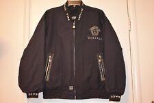 Vintage 90's classic VERSACE Medusa bomber jacket rare