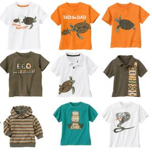 Gymboree Tiki Chief 3-6-12-18-24 2T 3T 4T 4 5 Polo Tee Shirts Turtle Orange 2011