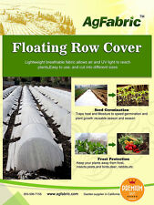 1.5oz Fabric of 6x25FT Row Cover and Plant Blanket for Winter frost Protection
